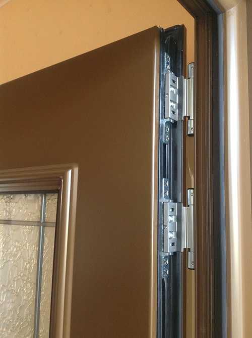 Porte d''entrée alu, avec nouvelles paumelles 3D - Bégard 1210