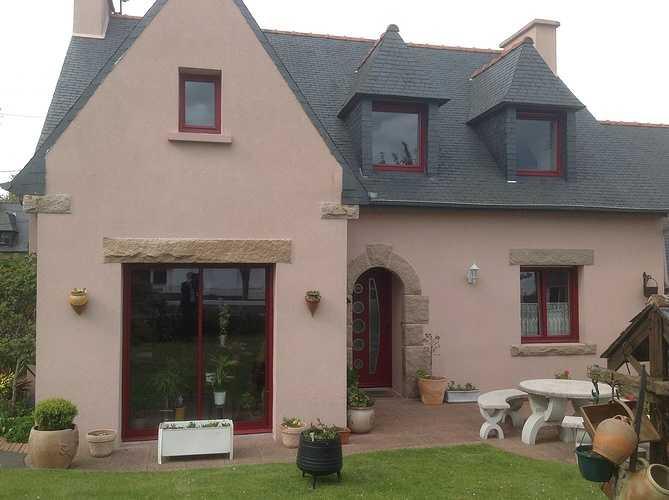 Fenêtres et portes fenêtres alu rouge pourpre - Mantallot 0